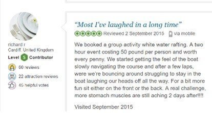 trip advisor review 5